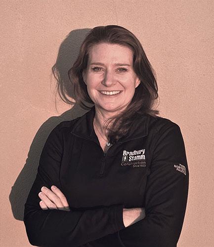 Cynthia Schultz, Bradbury Stamm Construction